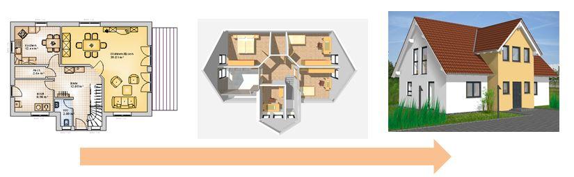 Hausplaner kostenlos haus planen hausplanung with for Haus planen kostenlos